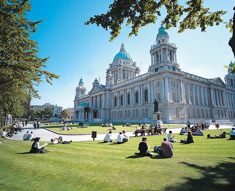 Belfast City Hall summer