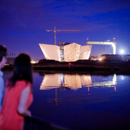 Titanic Belfast Night