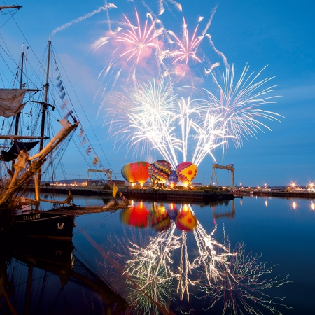Tall ships, maritime festival
