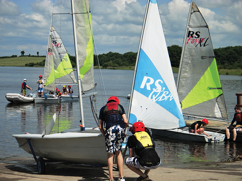 Sailing at SHARE Fermanagh