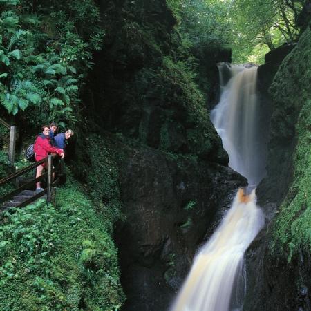 Glenariff Waterfall