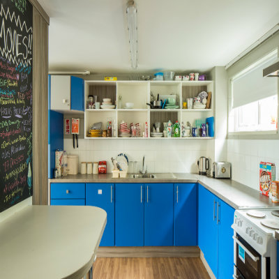 Elms shared kitchen