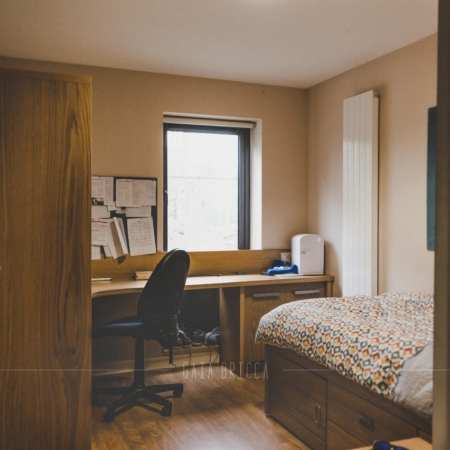 Campbell College ensuite room