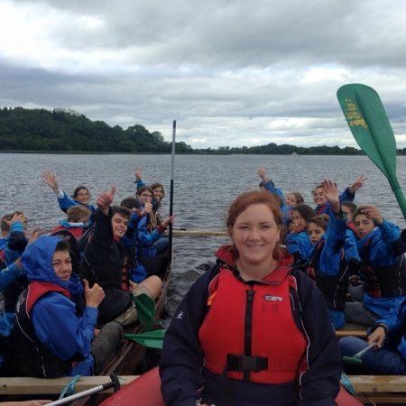 Sailing on lough