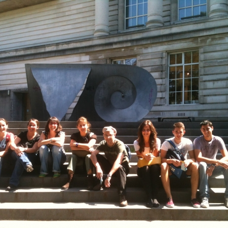 Ulster Museum sunny