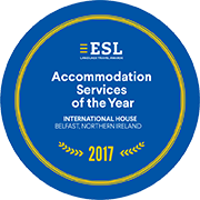 ESL Accommodation Service of year 2017
