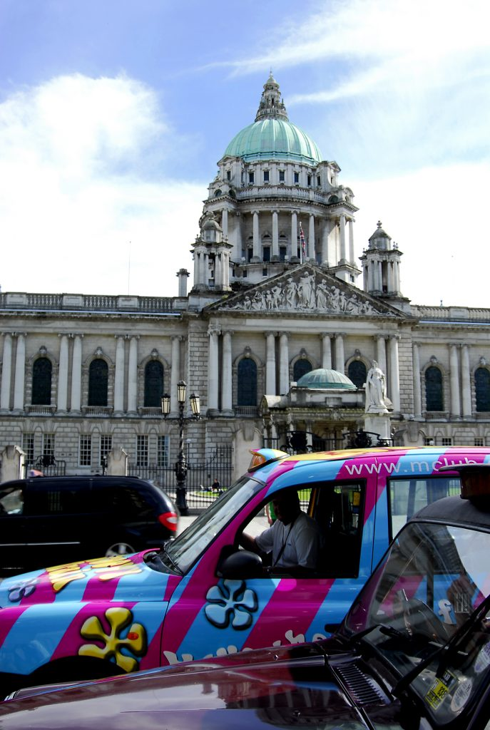 Life in Belfast: Black taxi tours are a great way to get to know the city.